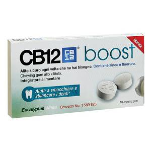 CB12 BOOST EUCAL WHITE 10CHEW