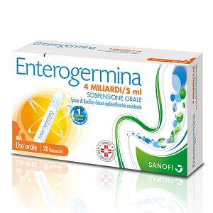 ENTEROGERMINA*OS 20FL 4MLD 5ML
