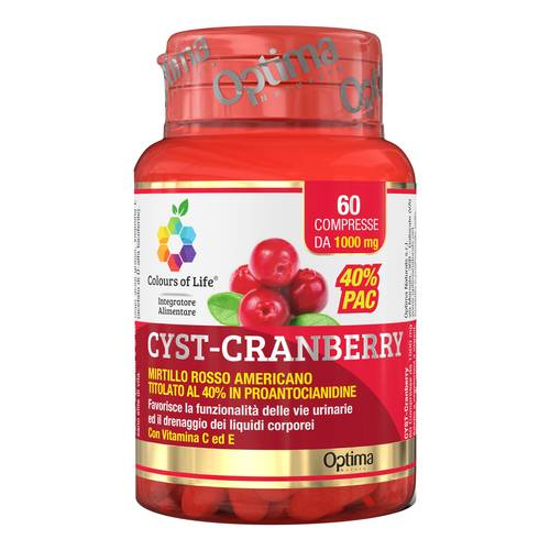CYST-CRANBERRY 60CPR COLOURS