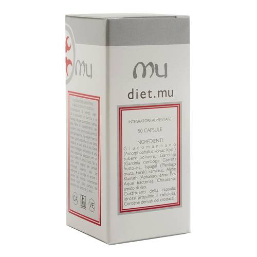 DIET MU INTEGRAT 50CPS 25G
