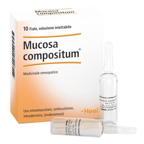 MUCOSA COMP 10F 2,2ML HEEL