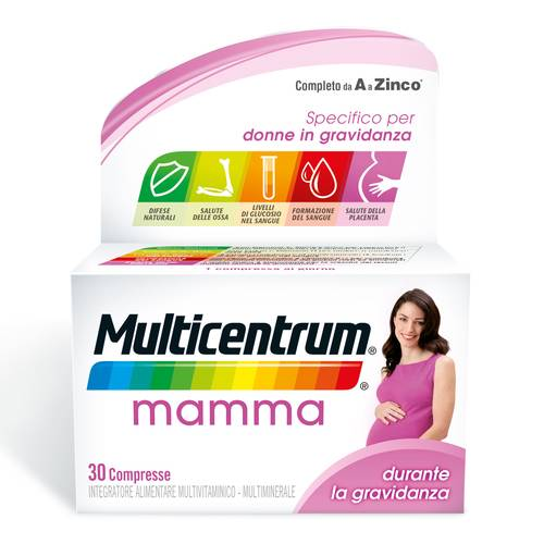 MULTICENTRUM MAMMA 30CPR
