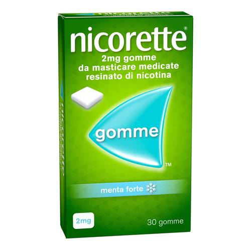 NICORETTE*30GOMME MAST 2MG MEN